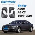 Брызговики для AUDI A6 C5 Седан 1998 ~ 2005 2004 2003 2002 2001 2000 1999 Брызговики аксессуары для брызговиков
