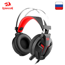 Redragon H112 Gaming Headset Gamer For PC PS4 Switch Surround Pro Wired Computer Stereo Headsets With Noise Isolation Microphone