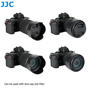 Image 2 - JJC Screw on + Bayonet Lens Hood for Nikon Z50 Dual Lens Kit ( Nikkor Z Mount DX 16 50mm & 50 250mm ) replaces HN 40 HB 90A