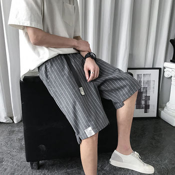 Men's shorts 2020 summer new slim five-minute pants plus size straight leg cargo shorts loose casual fashion youth men's wear
