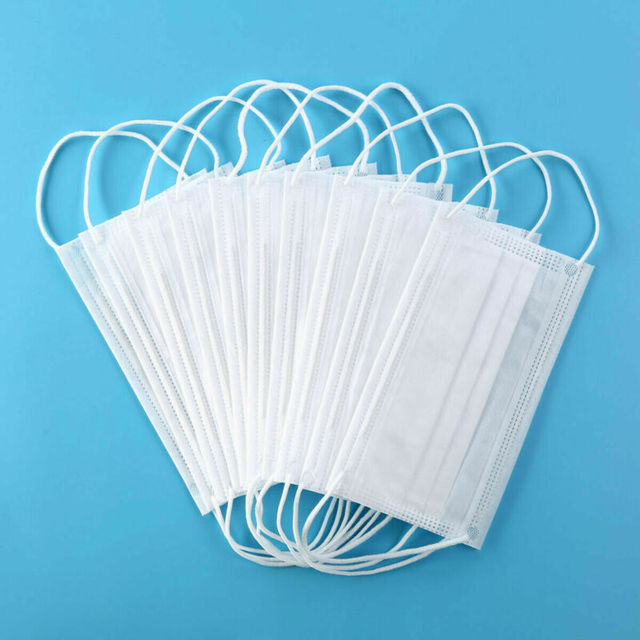 5/10PCs Disposable KN95 N95 Face Masks Anti-dust Mask Mouth Masks Non Woven 3 Layer Earloop Face Mask Breathable Salon Flu Mask 3