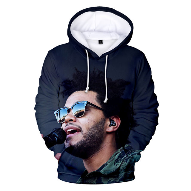 3D COOL FACE THE WEEKND HOODIE