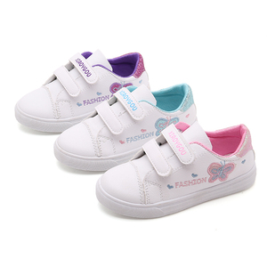 Image 2 - Bekamille Children Sport Shoes Autumn Infant Girls Baby Embroidery Butterfly Shoes Kids Casual Sneakers Student Running Shoes