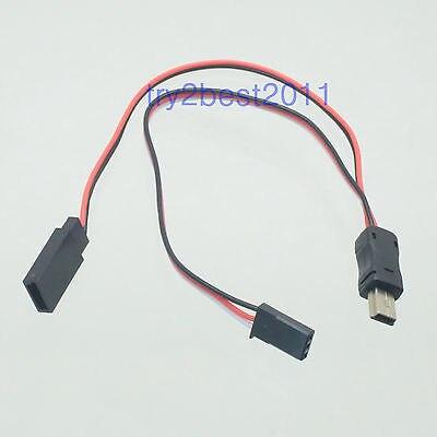 DHL/EMS 50 Sets Gopro Hero 3 FPV USB To AV Video Audio Output & 5V DC Power BEC Input Cable -C1