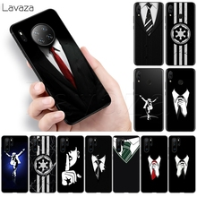 Lavaza мужской костюм рубашка галстук Мягкий чехол для Huawei Honor 30 V30 Nova 6 7 P40 SE Pro Max 4G 5G