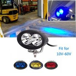 ECAHAYAKU 20W 3 cal led światło robocze terenowa listwa led dla Auto samochód motocykl samochód ciężarowy ATV SUV wózek widłowy przyczepy 4x4 przeciwmgielne światło ostrzegawcze