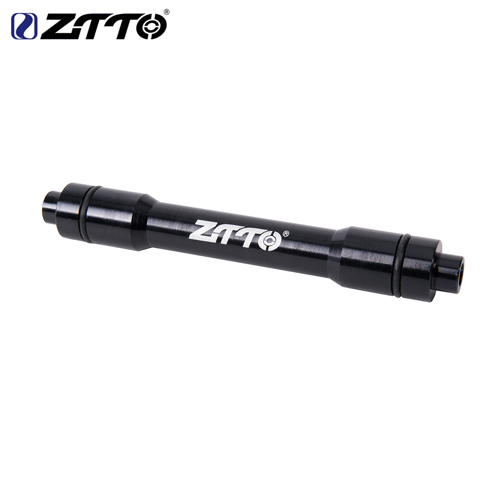 Bicycle Front Wheel Axle Adapter Thru Axle 15MM Adapter 9MM Quick Release Skewers Bicycle QR For MTB Mountain Bike hub image