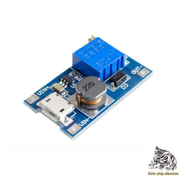 5pcs / Lot 2A Booster Board DC-DC Booster Module Wide Voltage Input 2 / 24V Rise 5 / 9 / 12 / 28V Adjustable 2577