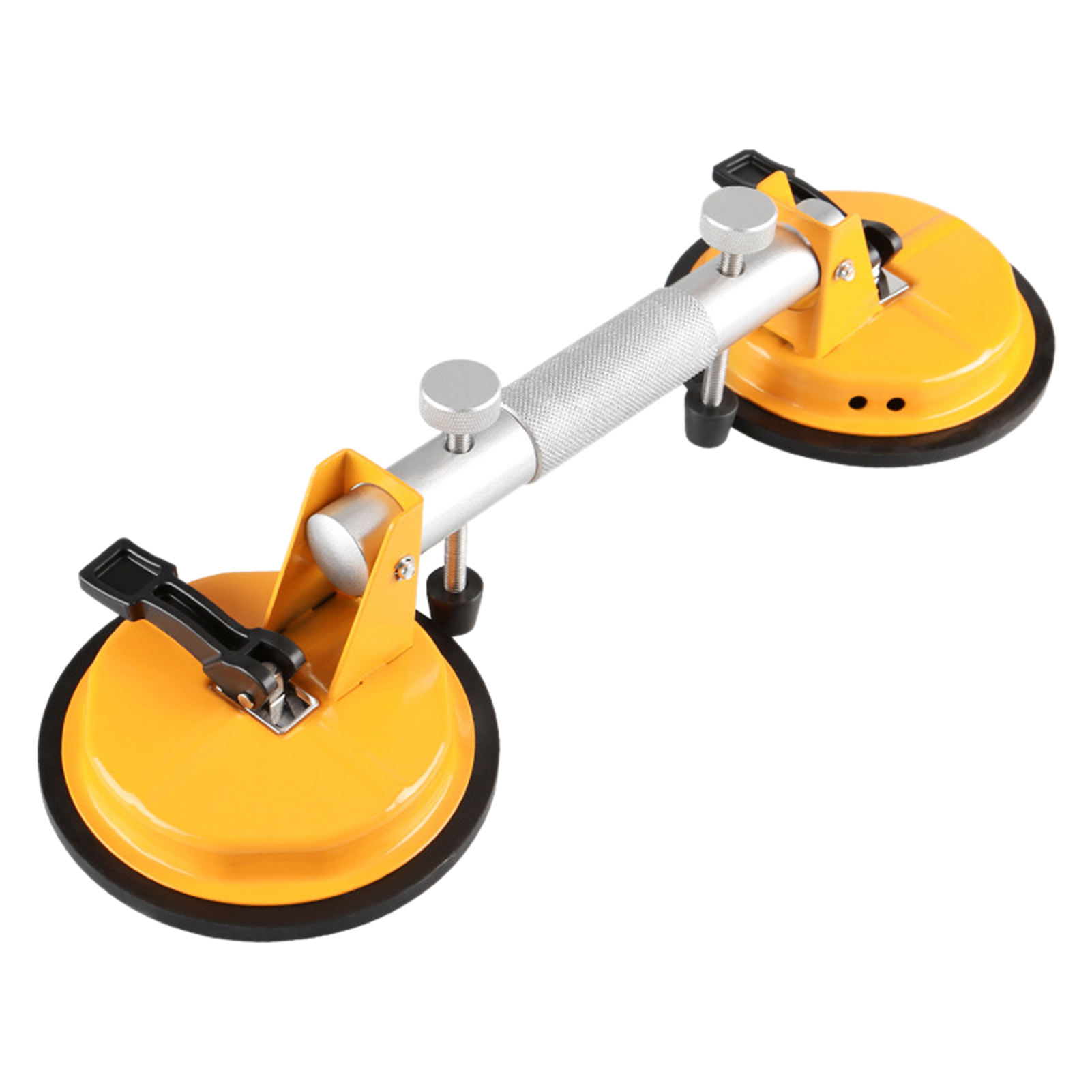 Gripper For Moving Double Handle Suction Cup Dent Home Heavy Duty Hand Tools Puller Glass Lifter Easy Use Portable Tiles Mirror