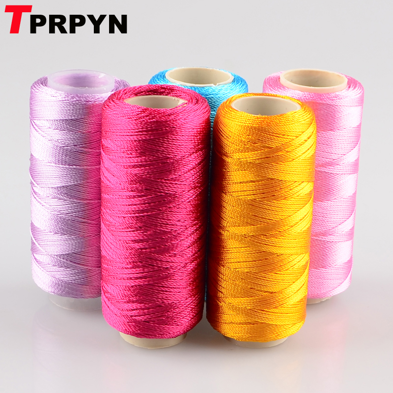 Tprpyn 5pcs=250g 100% Rayon Ice Silk Yarn To Knit Knitting Crochet Line Cool Summer Emboroidery Threads Smooth Diy Needlework To Have A Unique National Style