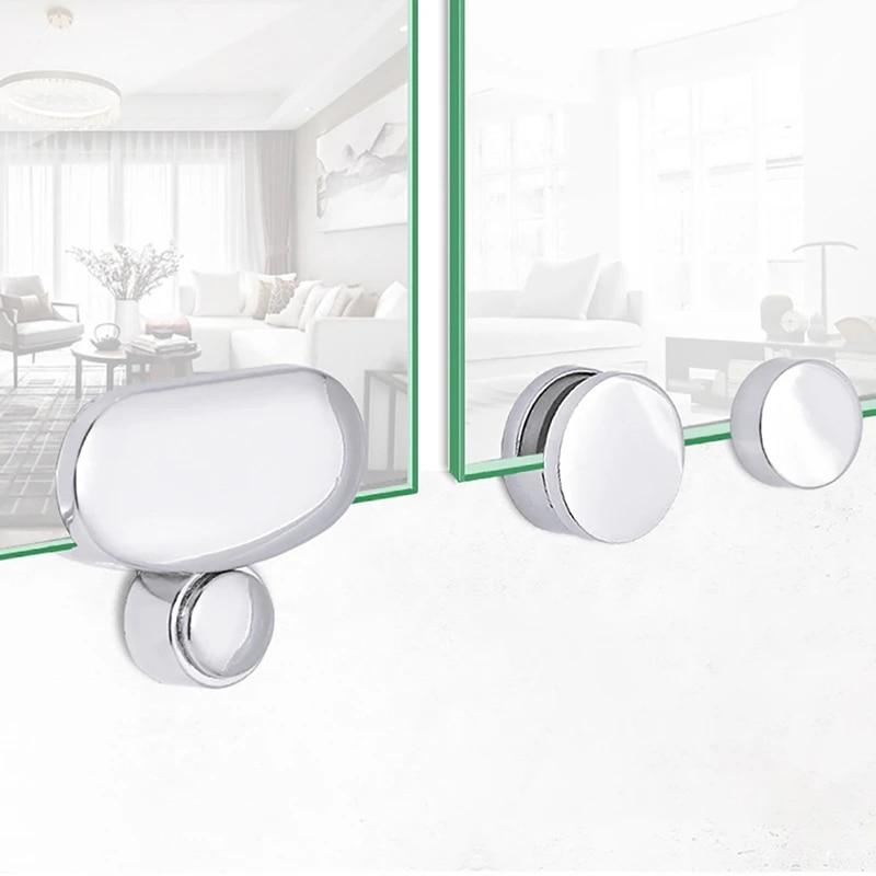 Bathroom Mirror Fixing Clips Glass Mirror Hinge Fixing Accessories Glass Fixing Clips Glass Clamps Aliexpress