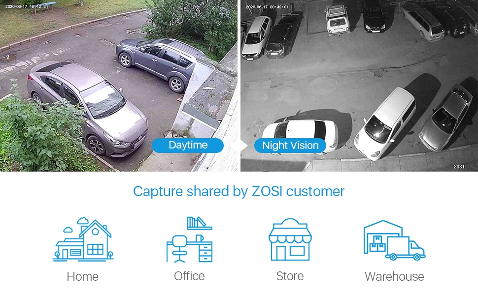 ZOSI 8 Camera CCTV System