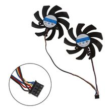 2 teile/satz Neue CF9010H12S RX 480/470 VGA GPU Kühler Grafiken Fan Für XFX R9 390X/390 8G RX480 RX470 Video Karte Kühlung
