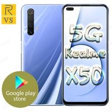 Original Realme X50 5G SmartPhone 6.57 inch Snapdragon 765G 5G Octa Core Android 10 SA/NSA NFC