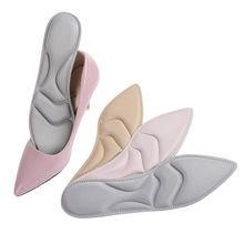 Memory Foam Insole For Shoes Soles Women High Heel Comfortable Absorbent Sweat Breathable Insoles Massage Shoe Cushion Insert(China)