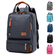 Waterproof Canvas Men's Backpack Large Capacity Laptop Backpack Women Vintage Casual School Bags For Teenager Travel Backpacks