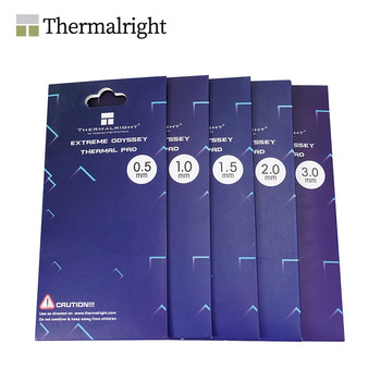 Thermalright ODYSSEY Thermal Pad,Non-Conductive GPU Card Water Cooling Thermal Mat 12.8W/mk 85x45mm 0.5mm/1.0mm/1.5mm/2.0mm/3.0 1