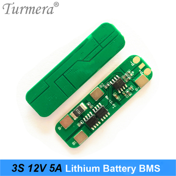 Turmera 3S 12.6V 5A BMS Lithium Battery Protected Board for Screwdriver Electric Tool Battery an Uninterrupted Power Supply 12V image