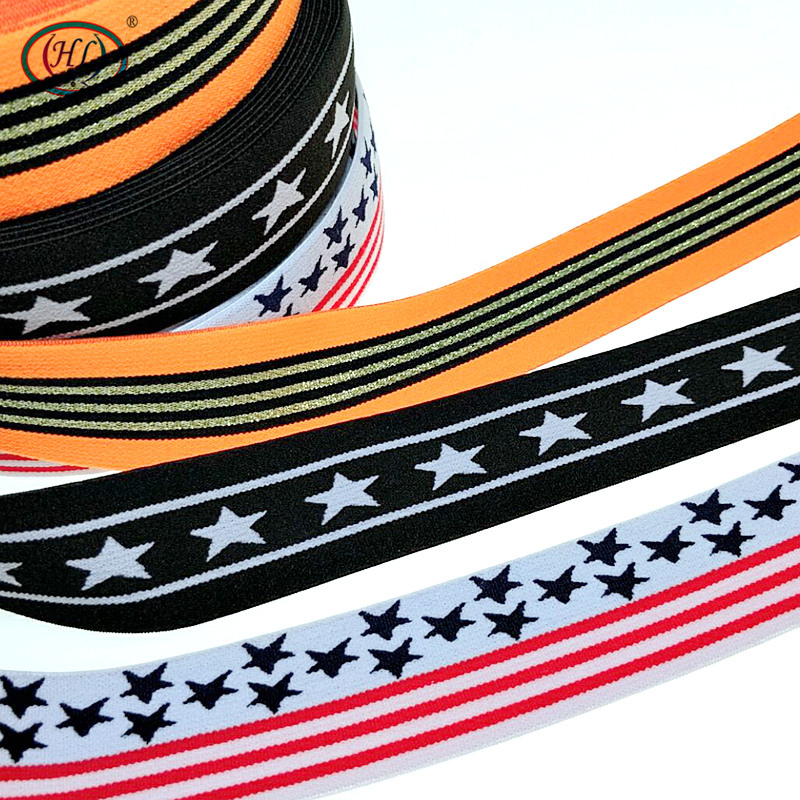 HL 1 Meter  40mm Width  3 Styles  Nylon Elastic Bands DIY Webbing Apparel Bags Leggings Sewing Accessories