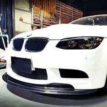 المصد الأمامي لسيارات BMW E92 2006 2013 M3 ، نمط جسم من ألياف الكربون E92 M3 GTS
