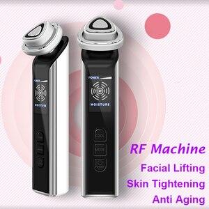 Image 2 - Биполярный радиочастотный аппарат для лица, портативная фотокосметика для омоложения кожи, удаления морщин, подтяжки кожи, антивозрастная терапия