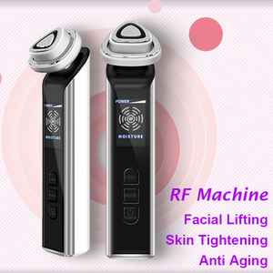 Image 2 - バイポーラ RF フェイシャルマシンポータブル Ems 美容肌の若返りしわ除去皮膚アンチエイジング治療
