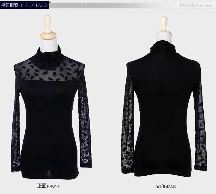 2017 חדש אביב סתיו באיכות טובה ארוך שרוול גבירותיי חולצות בתוספת גודל בגדים נשי חולצה משרד ליידי אופנה tops363J 20