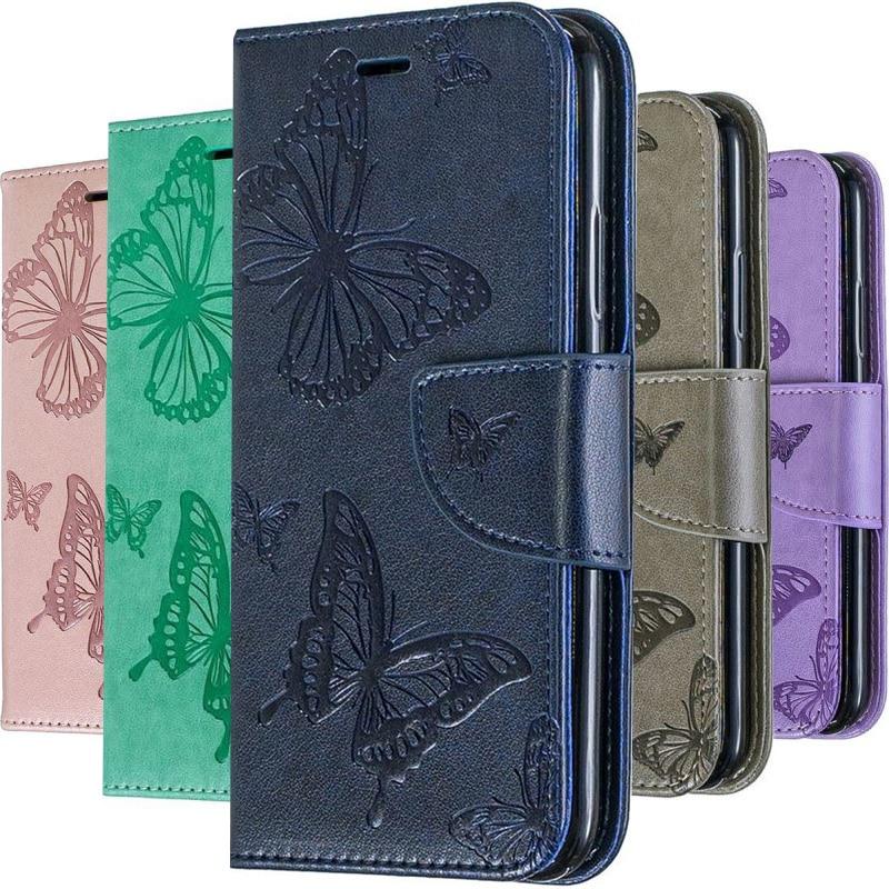 Book Flip Case For Samsung Galaxy A6 A8 J4 J6 S20 Ultra S10E S9 Plus A10 A20 E S A30 A40 A50 A51 A70 A71 Wallet Stand Case P07F