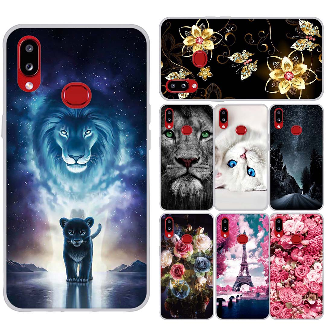 Case For Samsung A10s Case Soft Silicon Back Cover Phone Case For Samsung Galaxy A10s GalaxyA10s SM-<font><b>A107F</b></font> A107 <font><b>A107F</b></font> Back Covers image