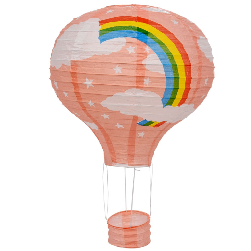 Pink Hot Air Balloon Lampshade