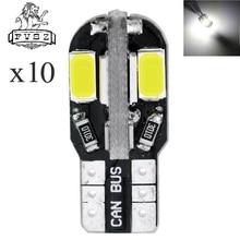 цена на  10X T10 12V 4W 8-5630 SMD Canbus LED Clearance / Reading Light / Door Lamp