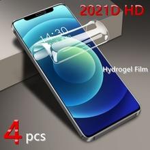 Volledige Cover Hydrogel Film Voor Iphone 12 11 Pro Xs Max Mini Screen Protector Voor Iphone Se 2020 Xr X 7 8 6 S Plus Film Niet Glas
