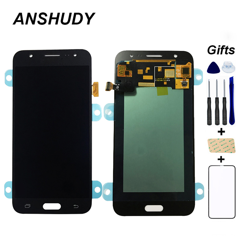 <font><b>AMOLED</b></font> For Samsung GALAXY J5 2015 <font><b>J500</b></font> J500F J500FN J500H J500G LCD Touch LCD Display Panel Screen Digitizer Assembly image