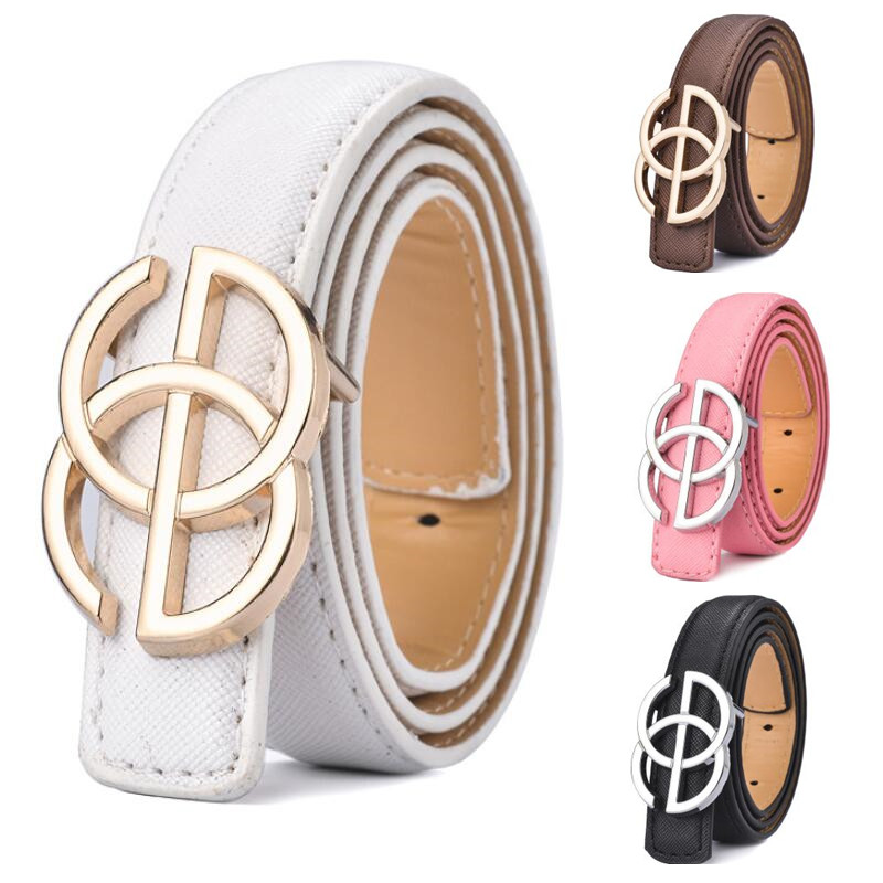 2020 New Listing Lady Belt Luxury Designer Children Boys/girls Leather Fashion Belts Student Alloy Buckle Belt Jeans Waist Belt
