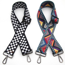 Shoulder Bag Strap Handbag Messenger Rainbow Belt Bag Accessories Handle Crossbody Women Bags Wide Strap You