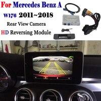 Cámara de visión trasera frontal para Mercedes-Benz A W176 W205 2011 ~ 2018 Adapte pantalla Original actualización de pantalla cámara decodificador