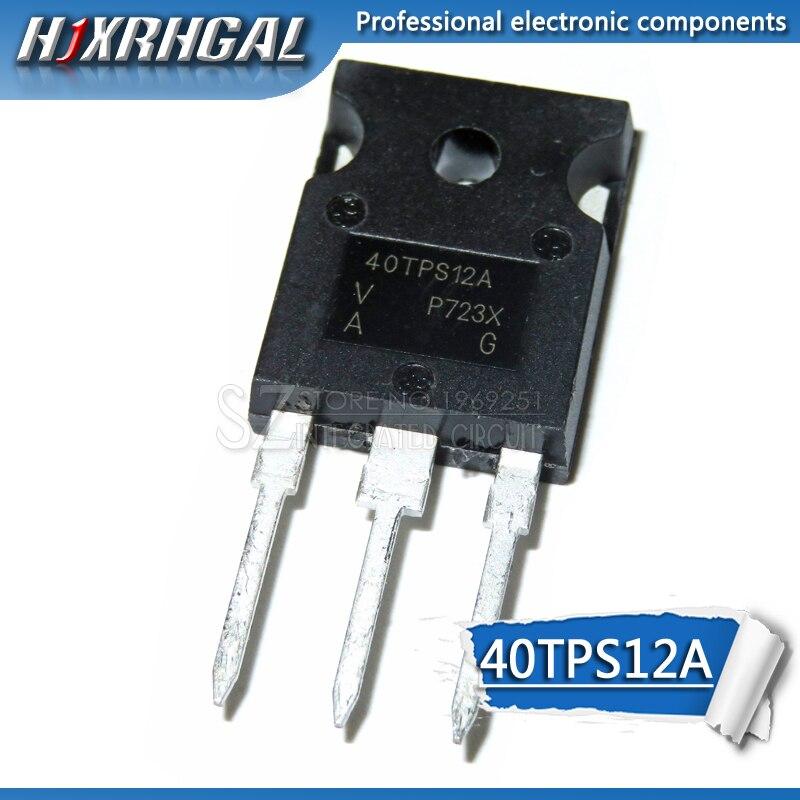 1PCS 40TPS12A TO-247 40TPS12 TO247 40TPS12APBF 55A/1200V New Original HJXRHGAL