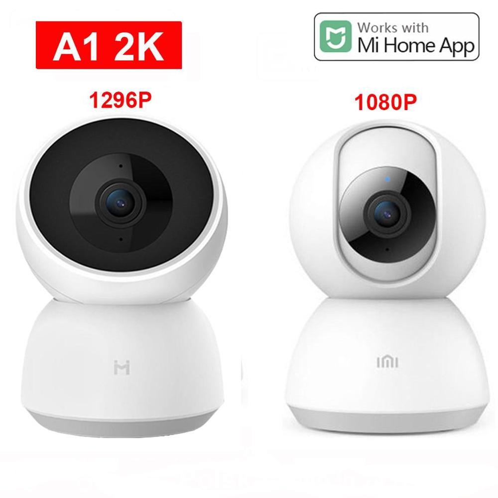 Xiaomi Mijia 2K inteligentny aparat 1296P 360 kąt HD Cam WIFI podczerwieni noktowizor kamera wideo kamera dziecko Monitor bezpieczeństwa Mi domu
