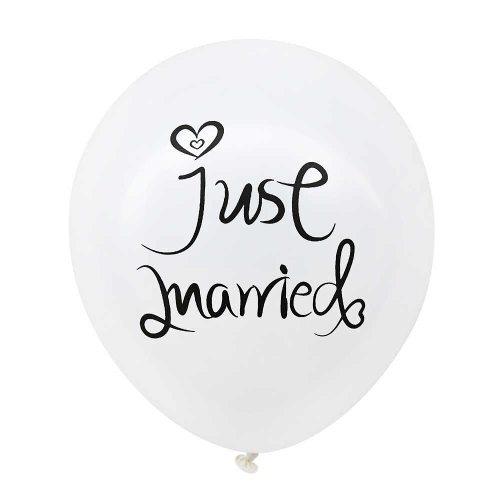 10 Pcs/lot 10 pouces nouveau MR mme ballon Latex fête de mariage ballon décoratif