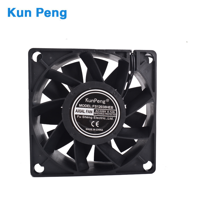 Cooling Fan 12038  EC 220V   Axial Fans 120 * 120 * 38mm DP200A  CFM 85 RPM 2450 Ozonizer Accessories Soldering Tin Exhaust Fan