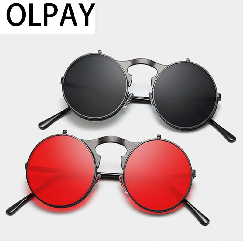 2019 new fashion Sunglasses Oversized Round Women Brand Designer Luxury Fashion Eyeglasses