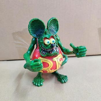 Opowieści o Rat Fink figurki akcji z Anime 11cm Model z pcv kolekcja popularne brzydkie myszy lalek ruchome stawy modne zabawki wystrój tanie i dobre opinie TAKARA TOMY lalka winylowa 7-12y 12 + y 18 + CN (pochodzenie) PIERWSZA EDYCJA Produkty na stanie Unisex Tales of the Rat Fink