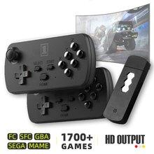 Usb Беспроводная портативная ТВ Видео игровая консоль со встроенными