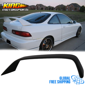 Fit For 1994-2001 Acura Integra DB DC2 3DR Hatchback Type R Trunk Spoiler Wing - ABS Global Free Shipping Worldwide