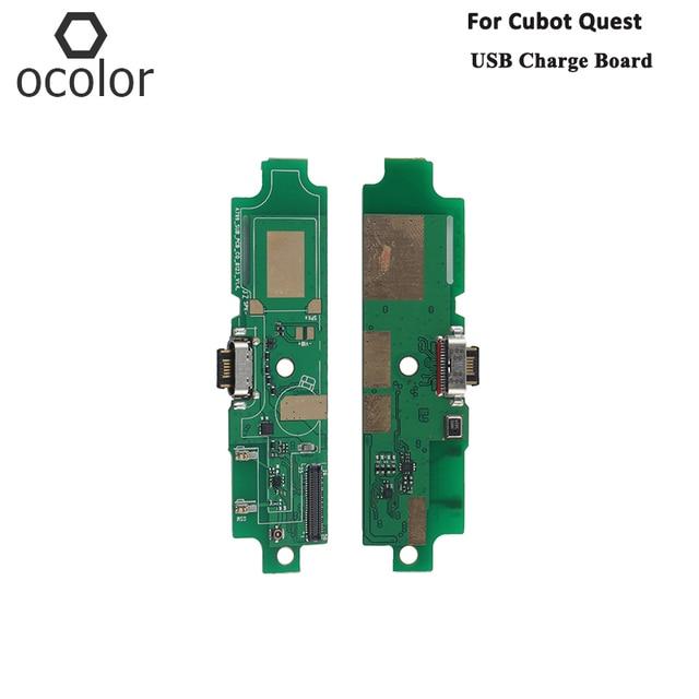 Ocolor Für Cubot Quest USB Ladung Board Montage Reparatur Teile Für Cubot Quest USB Bord Handy Zubehör Auf Lager