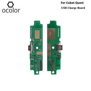 Image 1 - Ocolor cubotクエストusb充電ボードアセンブリの修理部品クエストusbボード携帯電話アクセサリー在庫あり