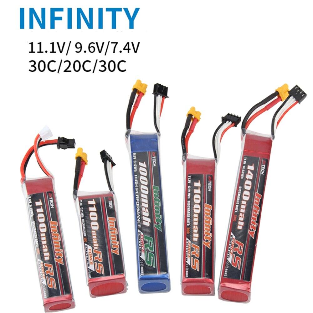 Infinity 2S 7.4V 1100mah 30C
