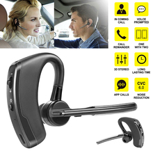Bluetooth 4.1 Wireless Bluetooth Headset Earphone Business Long Standby Time Headphones for Driving