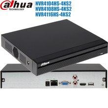 Dahua mutil Idioma red grabadora de Video 4K H.265 NVR4104HS-4KS2 NVR4108HS-4KS2 NVR4116HS-4KS2 para 4ch 8ch 16ch nvr con logo