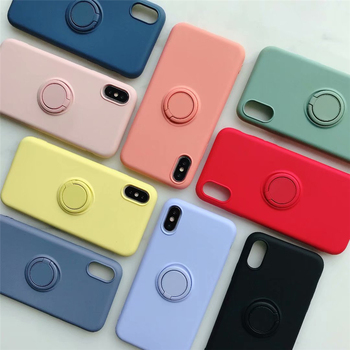 Slim Phone Case for iPhone with Magnetic Finger Ring Disposables & Single-Use Mobile Phone Covers